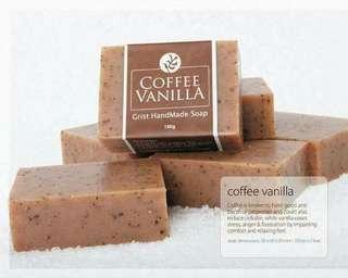 COFFEE VANILLA HandCrafted Organic Soap