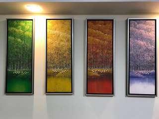 Four Seasons Oil Painting