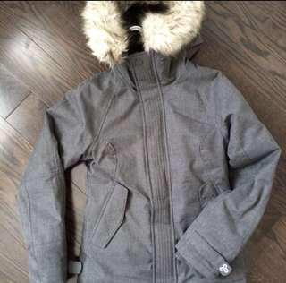 Grey Aritzia Winter Coat