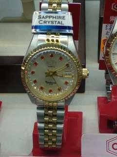 瑞士樂都石英女裝錶