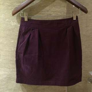 Rampage Purple Skirt