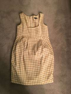 Wool dress (pinafore)