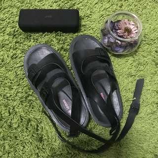 🚚 韓系綁帶涼鞋23.5號