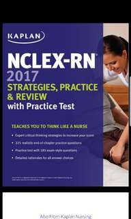 NCLEX-RN 2017 Strategies, Practice & Review with Practice Test