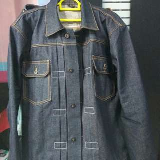 Raw Denim Jacket Type II Non Selvedge