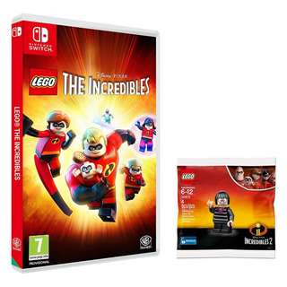 LEGO The Incredibles with EDNA Lego Minifigure