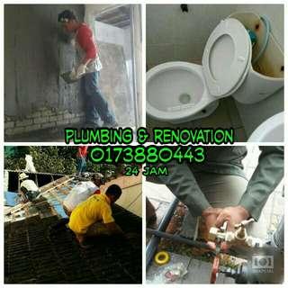 Tukang rumah renovation amd plumbing 0173880443