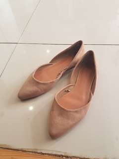 Forever 21 Suede Flats Size 7.5