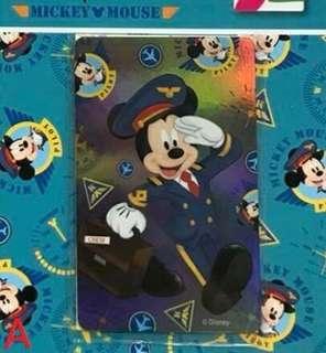 🚚 米奇米妮悠遊卡 米奇機師、米奇米妮太空人 兩款可挑 迪士尼悠遊卡