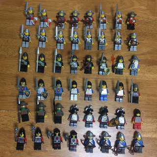 (‼️GSS SALES‼️) LEGO Minifigures Bundle - Kingdoms / Knights / Castles /