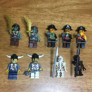 (‼️GSS SALES‼️) LEGO Minifigures Bundle - Vikings / Pirates / Troll / Skeletons