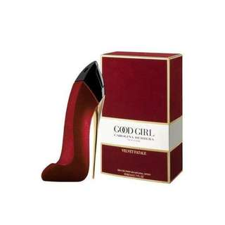 Parfum Original Carolina Herrera Good Girl Velvet Fatale