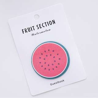 Fruit Shaped Sticky Notes [PO]