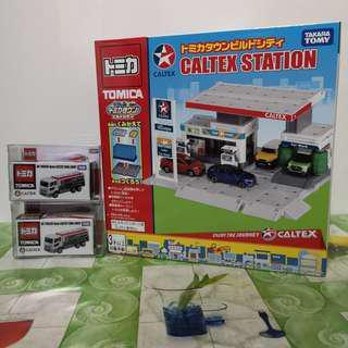 加德仕 Caltex 運油車(1)+加油站(1) 一套