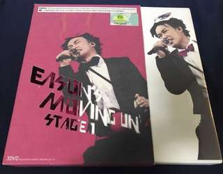 陳奕迅 EASON'S MOVING ON STAGE 3 DVD