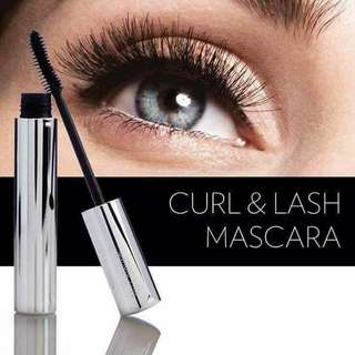 Curl and lash mascara