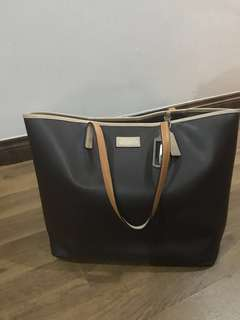 Coach F24341 Park Metro Leather Tote Brown