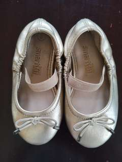 Gold Girl's Ballet Flats