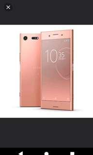 Sony xperia xz premium pink 99% new 齊盒