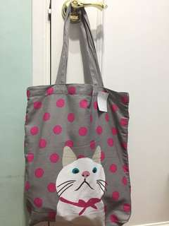 貓咪側揹袋 Totebag