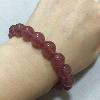 草莓晶手鍊