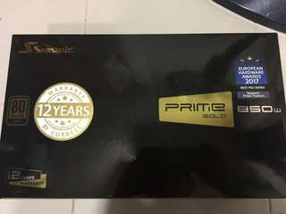 Seasonic 850w PRIME Gold PSU