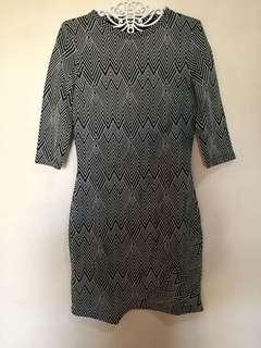 Mango bodycon dress