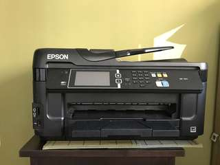 Epson Printer all night n one prints A3 also