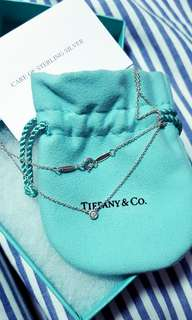Tiffany & Co Necklace (Silver with diamond)