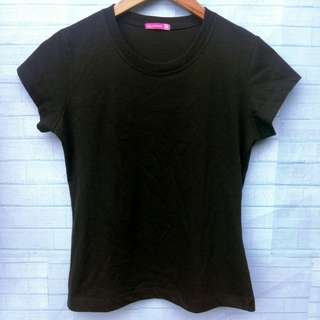 PLAIN BLACK T-SHIRT 😍