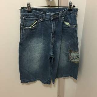 A Line Highwaisted Vintage shorts