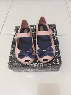 Mini melissa pink sweet size 9 (on booked)