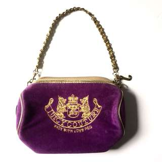 PLOVED: Authentic Juicy Couture Mini Barrel Bag