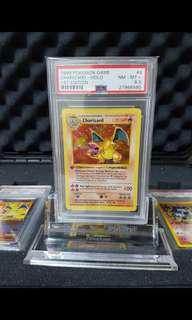 Pokemon Base Charizard 1st Edition
