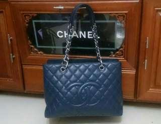🚚 Chanel銀鏈荔枝藍