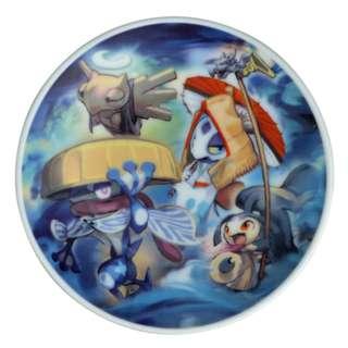 [PO] Pokemon Center Exclusive Ceramics Dish B Hyaku Poke Yako