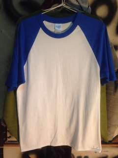 Kaos/T-shirt Gildan Raglan (Short sleeve)