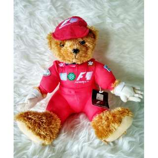Boneka Bear Official Formula 1