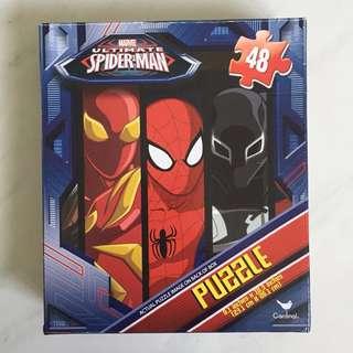 Spiderman Avengers Marvel Puzzle 48 pieces Licensed