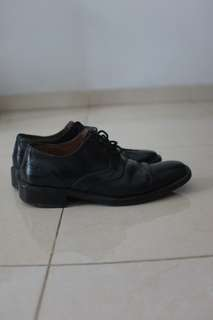 Pantofel/formal shoes braun buffel original warna hitam