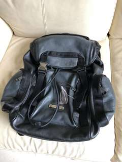 Coach Leather Backpack 真皮背囊 背包 書包 袋