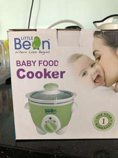 BNIB Little Bean Baby Food Cooker