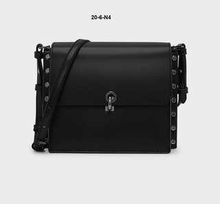 Charles & Keith Reversible Flap Crossbody Bag
