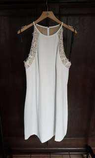 New with Tags - White Civil or Wedding Reception Dress - US 14