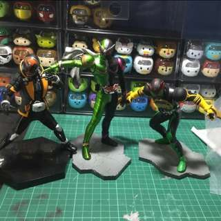 Kamen rider W OOO Ghost Figure trade with ps4 game Wts wtt