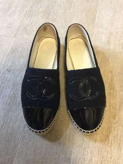 Chanel espadrilles 草鞋 size 40