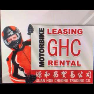 GHC offer discount 48% for Rental of Motorcycles (one month contract ) !!!