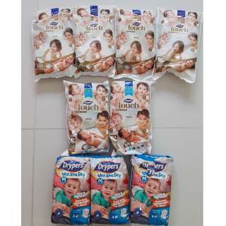 Drypers Touch/Wee Wee Dry Diaper