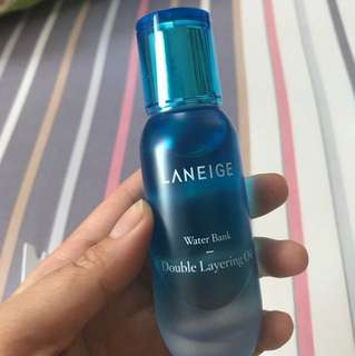 (Jual sante) REPRICE Laneige - Water Bank Double Layering Oil