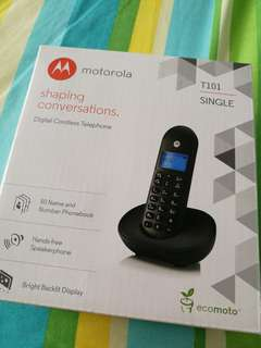 Motorola T101 Dect Phone